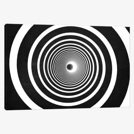 Spiral (Dark) Canvas Print #MBA38} by Marco Bagni Art Print