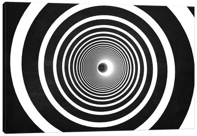 Spiral (Dark) Canvas Art Print