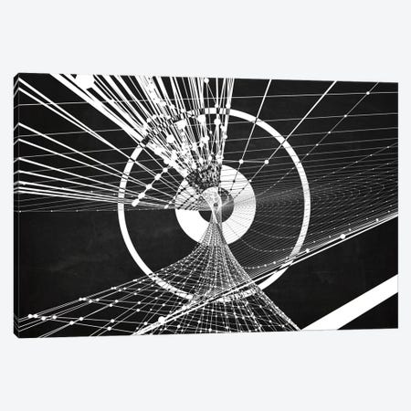 Zoom (Dark) Canvas Print #MBA40} by Marco Bagni Canvas Wall Art