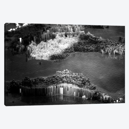 Pixelated Atlantic Canvas Print #MBA63} by Marco Bagni Canvas Wall Art
