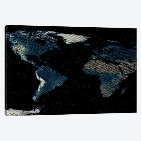 Spiked World Canvas Print #MBA72} by Marco Bagni Canvas Print