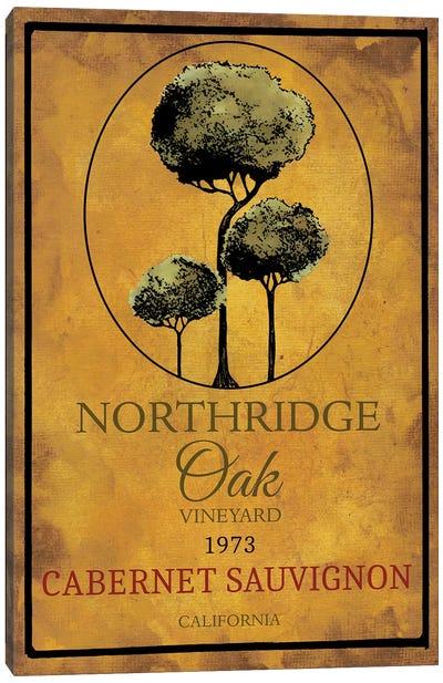 Still Life Wine Label I Canvas Art Print