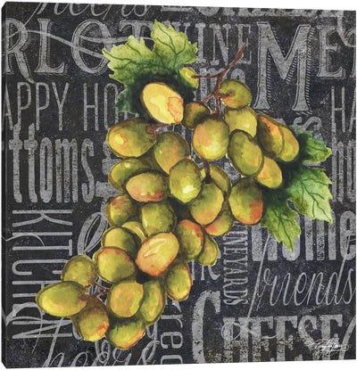Wine Grapes I Canvas Art Print
