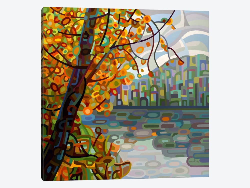 Reflections by Mandy Budan 1-piece Canvas Artwork