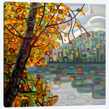 Reflections Canvas Print #MBD15} by Mandy Budan Art Print