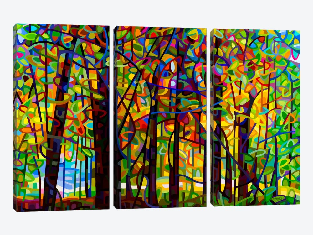 Standing Room Only by Mandy Budan 3-piece Canvas Artwork