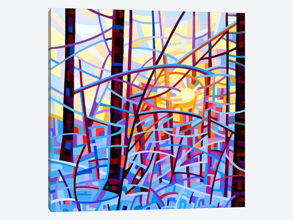 Sunrise by Mandy Budan 1-piece Canvas Art Print