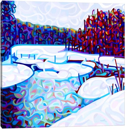 Thaw Canvas Art Print