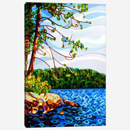 View from Mazengah Canvas Print #MBD25} by Mandy Budan Canvas Artwork