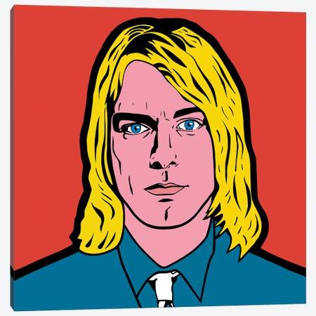 Kurt Cobain Canvas Print #MBH11} by Mark Ben Harris Canvas Wall Art