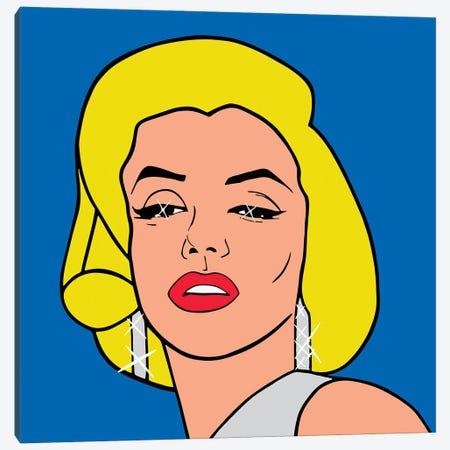 Marilyn Monroe Canvas Print #MBH13} by Mark Ben Harris Canvas Artwork