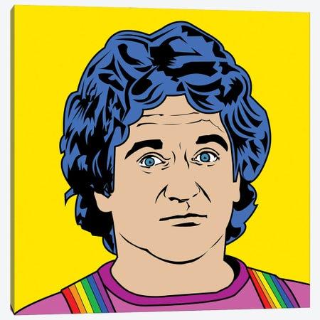 Robin Williams Canvas Print #MBH16} by Mark Ben Harris Canvas Art Print