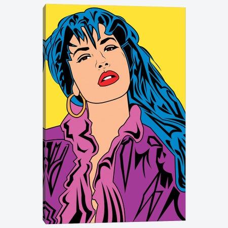 Selena Canvas Print #MBH18} by Mark Ben Harris Canvas Artwork
