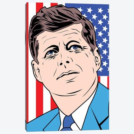 JFK Canvas Print #MBH21} by Mark Ben Harris Canvas Print