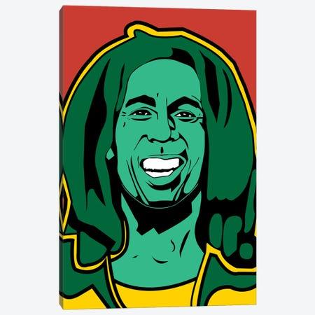 Bob Marley Canvas Print #MBH2} by Mark Ben Harris Canvas Artwork