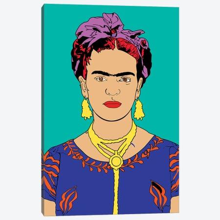 Frida Kahlo Canvas Print #MBH6} by Mark Ben Harris Art Print