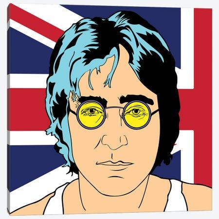 John Lennon Canvas Print #MBH9} by Mark Ben Harris Canvas Art