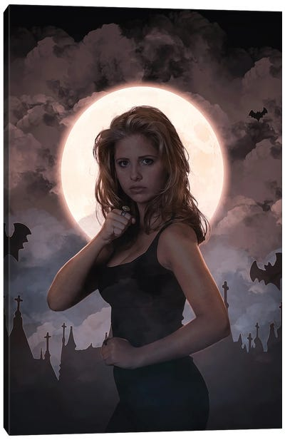 Buffy Summers Canvas Art Print