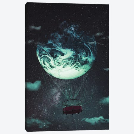 Earth Escape Canvas Print #MBK25} by Marischa Becker Art Print