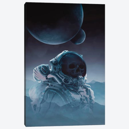 Lost In Space Canvas Print #MBK50} by Marischa Becker Canvas Art Print