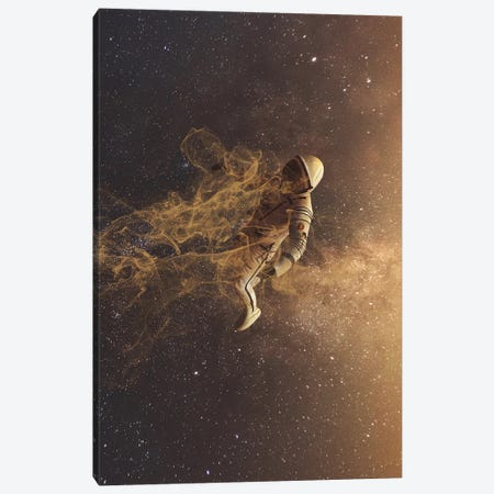 Lost In Space Canvas Print #MBK51} by Marischa Becker Art Print