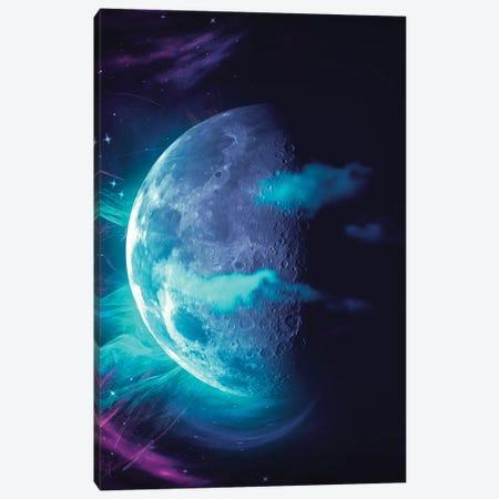 Moon Canvas Print #MBK55} by Marischa Becker Canvas Wall Art