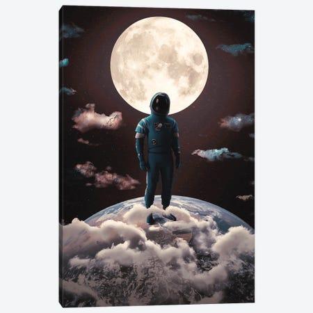 Moonlight Canvas Print #MBK56} by Marischa Becker Canvas Wall Art