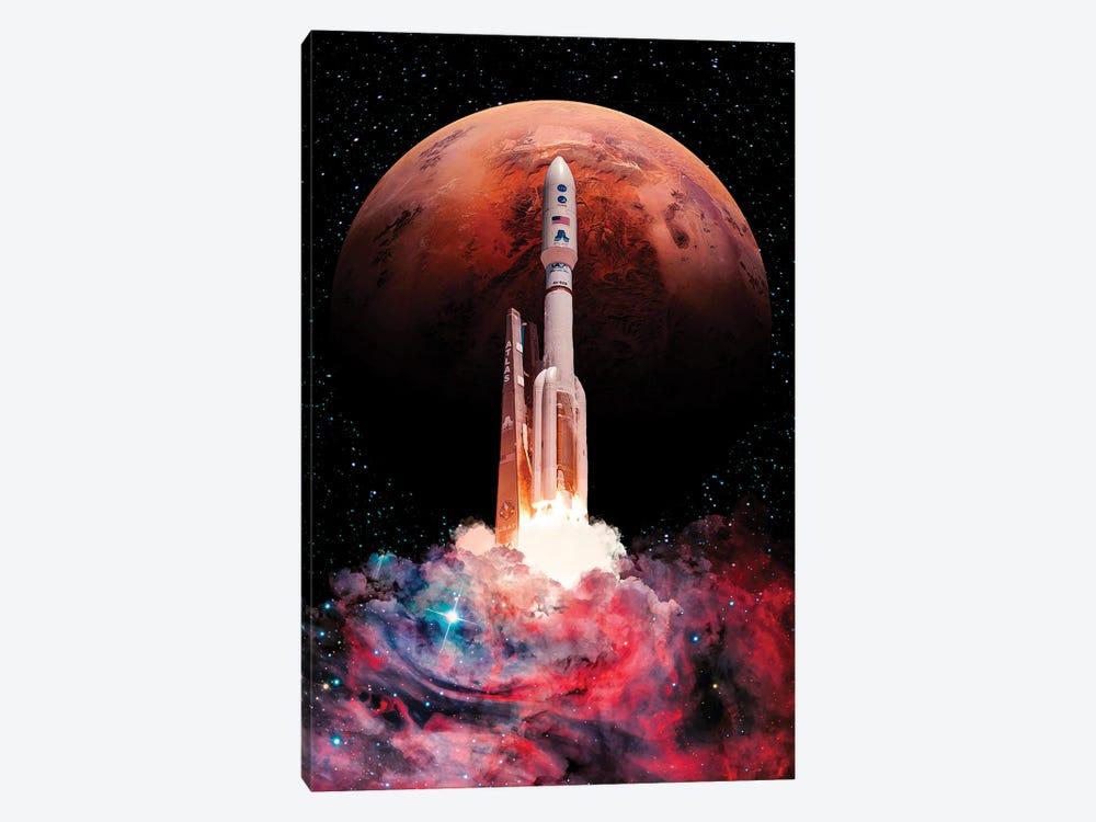 Rocket Launch by Marischa Becker 1-piece Canvas Art