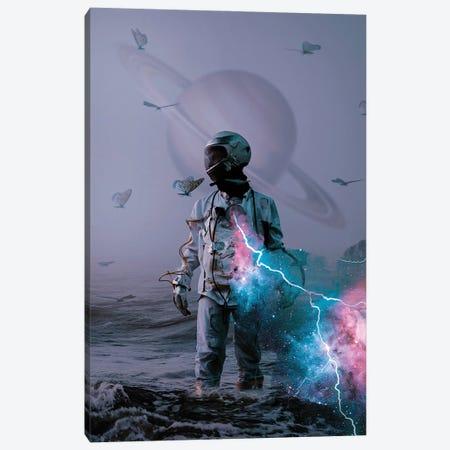 Astro Collusion Canvas Print #MBK6} by Marischa Becker Canvas Art