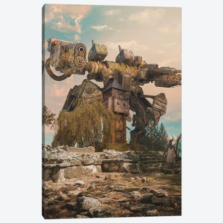 The War Machine Canvas Print #MBK81} by Marischa Becker Canvas Artwork