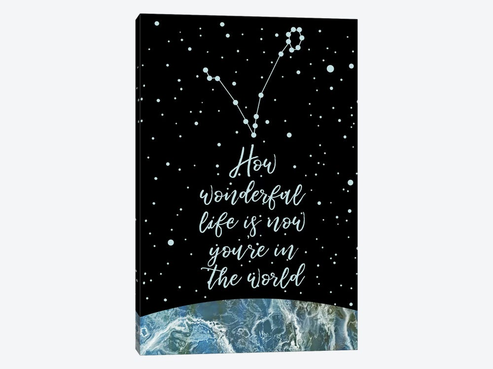 Constellation (Pisces) by Marble Art Co 1-piece Canvas Art