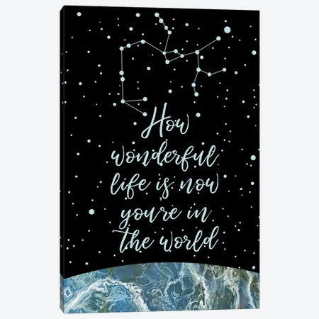 Constellation (Sagittarius) 3-Piece Canvas #MBL11} by Marble Art Co Canvas Wall Art