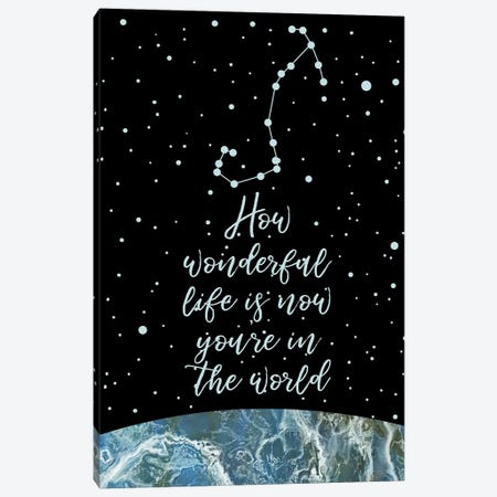 Constellation (Scorpio) Canvas Print #MBL12} by Marble Art Co Canvas Artwork