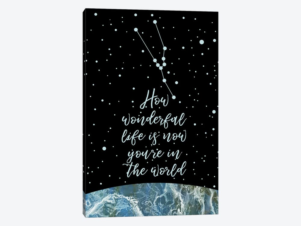 Constellation (Taurus) by Marble Art Co 1-piece Canvas Print