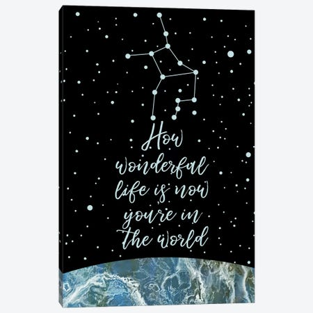 Constellation (Virgo) Canvas Print #MBL14} by Marble Art Co Canvas Print