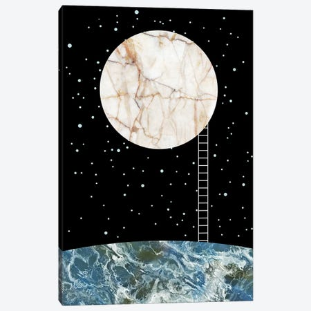 Concept I Canvas Print #MBL1} by Marble Art Co Canvas Artwork