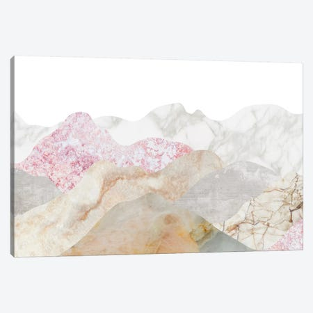 Mountain Landscape Canvas Print #MBL21} by Marble Art Co Art Print