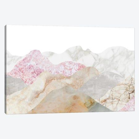 Mountain Landscape 3-Piece Canvas #MBL21} by Marble Art Co Art Print