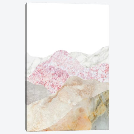 Mountain II Canvas Print #MBL23} by Marble Art Co Canvas Art Print