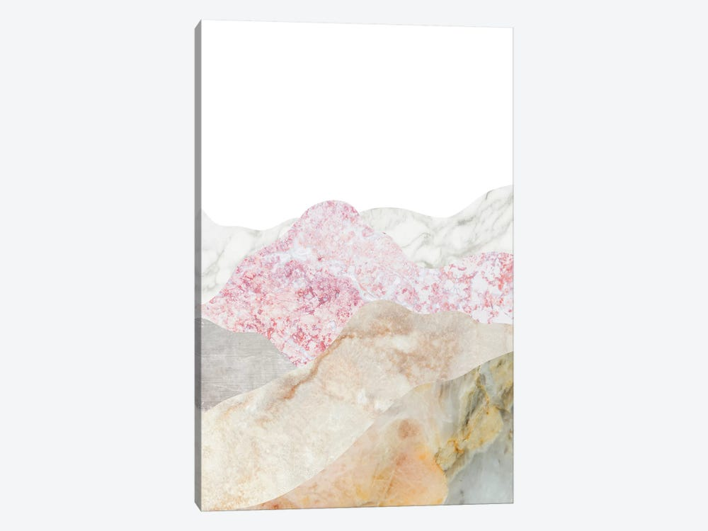 Mountain II by Marble Art Co 1-piece Canvas Wall Art