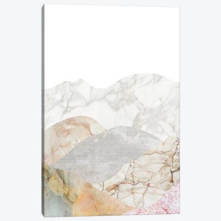 Mountain III Canvas Print #MBL24} by Marble Art Co Canvas Wall Art