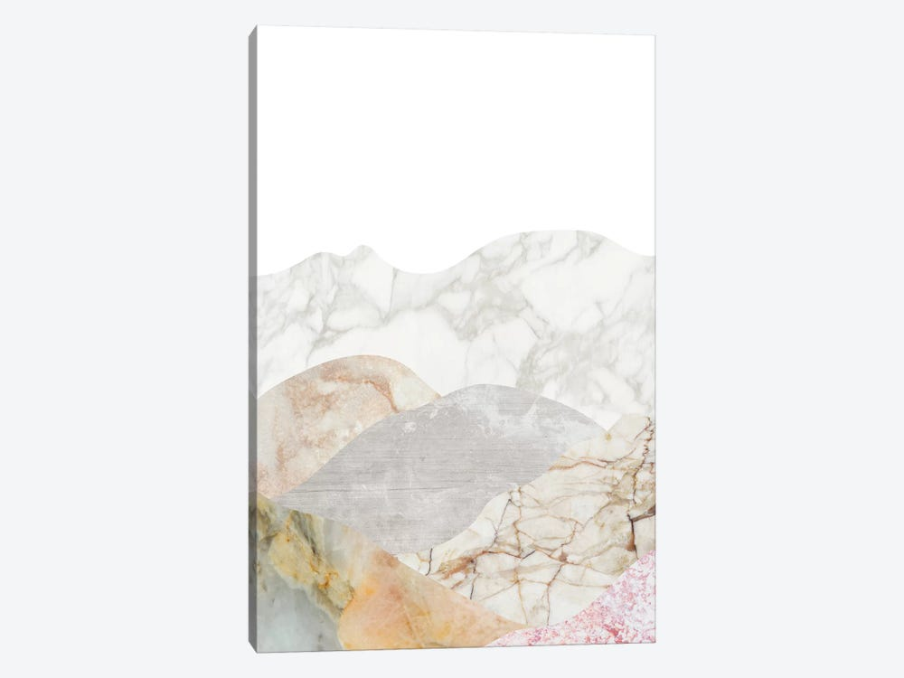 Mountain III by Marble Art Co 1-piece Canvas Art Print