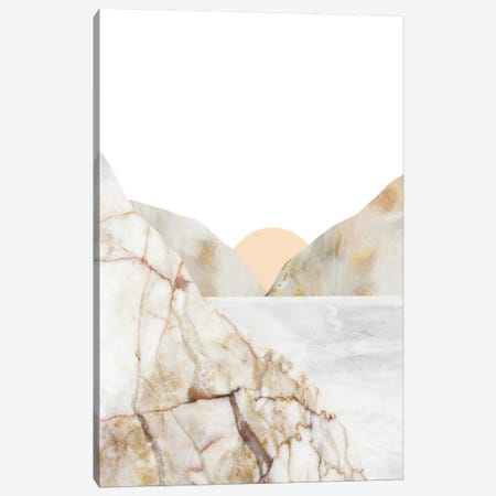 Mountain VI Canvas Print #MBL27} by Marble Art Co Canvas Artwork