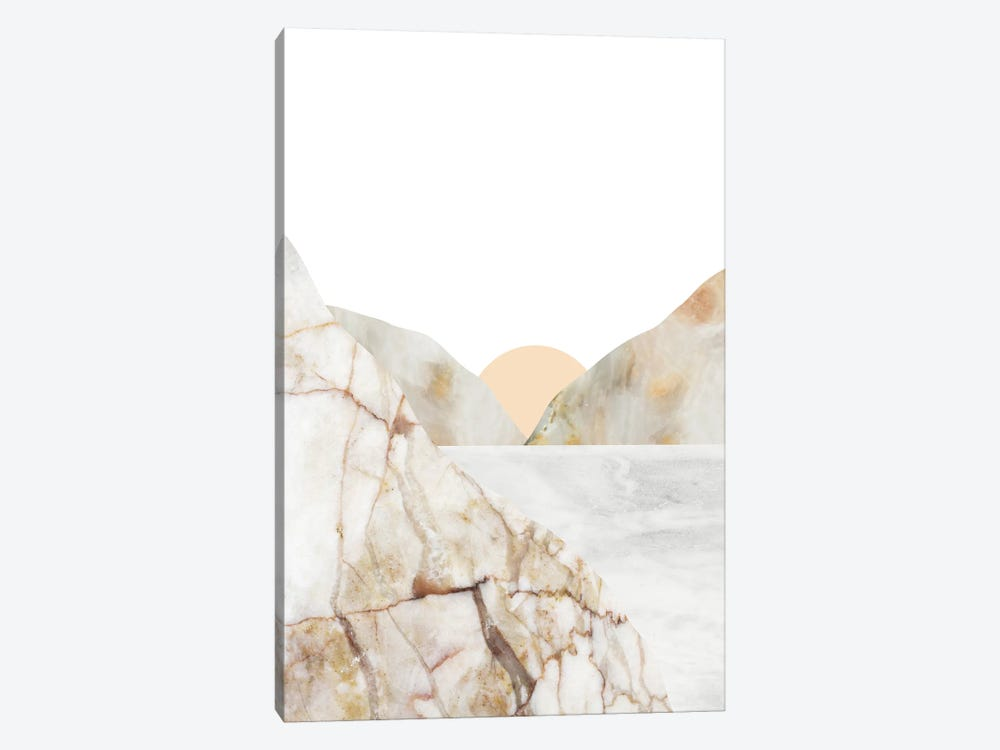 Mountain VI by Marble Art Co 1-piece Canvas Wall Art