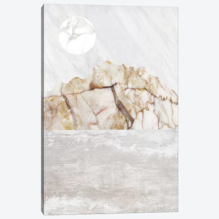 Mountain VII Canvas Print #MBL28} by Marble Art Co Art Print