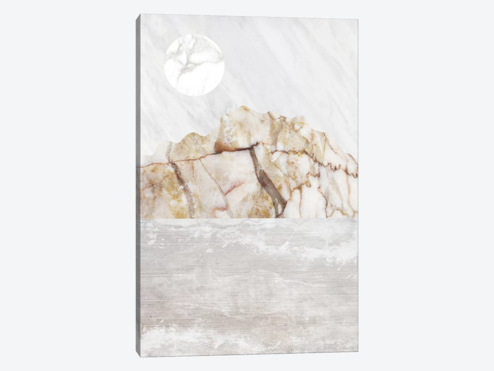 Mountain VII by Marble Art Co 1-piece Canvas Print