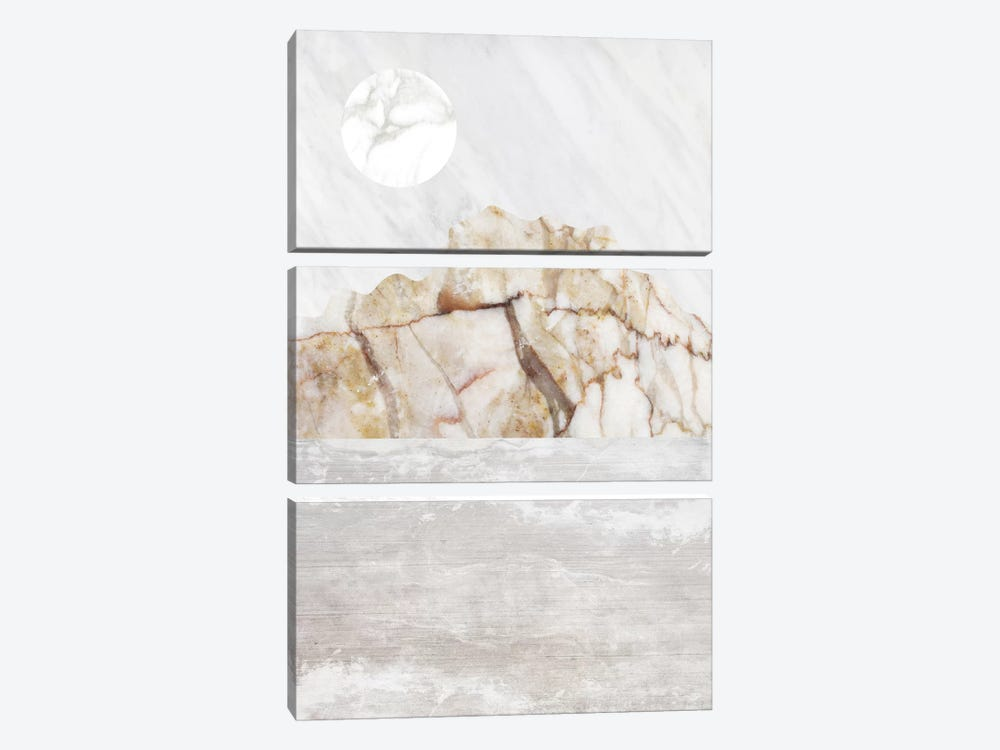 Mountain VII by Marble Art Co 3-piece Canvas Art Print