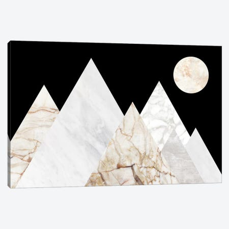 Peak Landscape I Canvas Print #MBL29} by Marble Art Co Art Print
