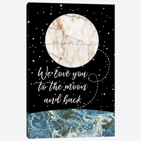 Concept II Canvas Print #MBL2} by Marble Art Co Canvas Artwork