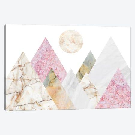 Peak Landscape II Canvas Print #MBL30} by Marble Art Co Canvas Wall Art